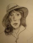 Obras de arte: America : Argentina : Buenos_Aires : Cuidad_Aut._de_Buenos_Aires : Ana con sombrero
