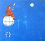 Obras de arte: America : Chile : Region_Metropolitana-Santiago : providencia : Tocata en Blue