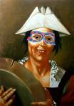Obras de arte: America : Cuba : La_Habana : Vedado : La cocinera