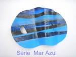 Obras de arte: America : Brasil : Sao_Paulo : Sao_Paulo_ciudad : MAR AZUL