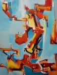 Obras de arte: America : Argentina : Buenos_Aires : Caballito : Delicias de la rutina