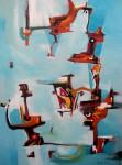 Obras de arte: America : Argentina : Buenos_Aires : Caballito : Abrazo de Mar