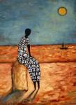 Obras de arte: Europa : España : Castilla_y_León_Valladolid : Valladolid_ciudad. : Mujer africana