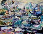 Obras de arte: America : Argentina : Buenos_Aires : Ramos_Mejía : Viajando conmigo