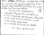Obras de arte: America : Argentina : Cordoba : Cordoba_ciudad : Arcangel Gabriel