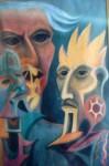 Obras de arte: America : México : Morelos : cuernavaca : ENCUENTRO DE DIOSES