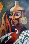 Obras de arte: America : México : Morelos : cuernavaca : GUERRERO DEL SOL
