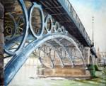 Obras de arte: Europa : España : Extremadura_Badajoz : Oliva_de_la_Frontera : Puente de Triana 02
