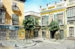 Obras de arte: Europa : España : Extremadura_Badajoz : Oliva_de_la_Frontera : Calle Castilla