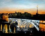 Obras de arte: Europa : España : Extremadura_Badajoz : Oliva_de_la_Frontera : Puente Triana