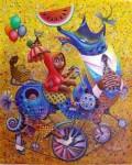 <a href='https://www.artistasdelatierra.com/obra/4182-LA-NIETA-DE-CAPERUCITA.html'>LA NIETA DE CAPERUCITA » elio villate<br />+ más información</a>
