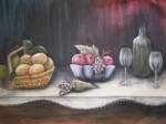 Obras de arte: America : Uruguay : Rio_Negro : Young : Bodegón con uvas