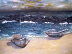 Obras de arte: America : Uruguay : Rio_Negro : Young : Esperando el temporal