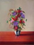 Obras de arte: America : Cuba : Ciudad_de_La_Habana : Playa : Flores en el jarrón