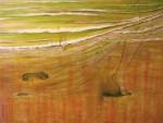 Obras de arte: Europa : España : Galicia_Pontevedra : Redondela : Na praia no lusco-fusco