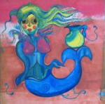 Obras de arte: America : México : Mexico_Distrito-Federal : Benito_Juarez : Sirena con jarrito