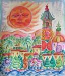 Obras de arte: America : México : Mexico_Distrito-Federal : Benito_Juarez : Paisaje frutal