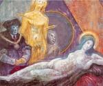 Obras de arte: Europa : España : Comunidad_Valenciana_Castellón : castellon_ciudad : Santo, demonio, virgen y martir