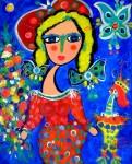 Obras de arte: America : Chile : Region_Metropolitana-Santiago : Santiago_de_Chile : Esperando al pintor