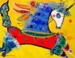 Obras de arte: America : Chile : Region_Metropolitana-Santiago : Santiago_de_Chile : Unicornio de la Suerte