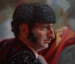 Obras de arte: America : Colombia : Cundinamarca : BOGOTA_D-C- : Perfil de matador