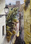 Obras de arte: Europa : España : Andalucía_Málaga : Málaga : CALLEJON NAZARÍ