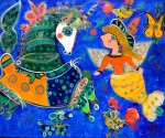 Obras de arte: America : Chile : Region_Metropolitana-Santiago : Santiago_de_Chile : El mundo de mi hija Catalina