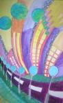Obras de arte: Europa : España : Canarias_Santa_Cruz_de_Tenerife : Santa_Cruz_Tenerife_ciudad : COLOR en la ciudad del ASFALTO...
