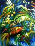 Obras de arte: America : Rep_Dominicana : Santo_Domingo : Distrito_Nac : imagenes en el fondo del mar II