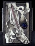 Obras de arte: America : M�xico : Baja_California : tijuana_mexico : La pierna derecha de San Sebastian