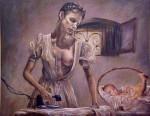 Obras de arte: America : Colombia : Antioquia : Medellín : Maternidad 10