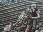 Obras de arte: America : México : Baja_California : tijuana_mexico : El bato y la morra se van de jale !no cabrón!