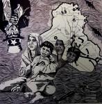 Obras de arte: America : México : Baja_California : tijuana_mexico : Si el Norte fuera el Sur (serie Consecuencias)