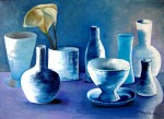 Obras de arte: Europa : España : Catalunya_Girona : Figueres : Azul