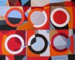 Obras de arte: Europa : Francia : Rhone-Alpes : Lyon : Seis dos : : pintura abstracta