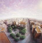 Obras de arte: Europa : España : Castilla_la_Mancha_Ciudad_Real : Ciudad_Real : Planeta Tierra, Sol y Luna