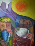 Obras de arte: America : Argentina : Buenos_Aires : La_Matanza : hijos del sol