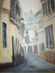 Obras de arte: America : Argentina : Buenos_Aires : La_Matanza : calles antiguas