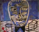 Obras de arte: America : Argentina : Buenos_Aires : Ciudad_de_Buenos_Aires : La puta sonrisa del mono liso