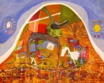 Obras de arte: America : Perú : Lima : chosica : sol y luna