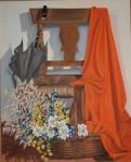 Obras de arte: Europa : España : Castilla_la_Mancha_Guadalajara : Guadalajara__ciudad : Bodegón silla