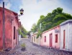 Obras de arte: America : Argentina : Buenos_Aires : Capital_Federal : Calle de los suspiros