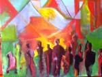Obras de arte: America : Argentina : Buenos_Aires : La_Matanza : GENTE EN LA CIUDAD