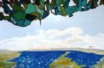 Obras de arte: Europa : España : Andalucía_Málaga : Malaga_ciudad : Hojas de cristal