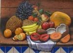 Obras de arte: America : México : Mexico_Distrito-Federal : iztapalapa : bodegón de frutas