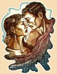 Obras de arte: America : Argentina : Buenos_Aires : Capital_Federal : El encanto de dos almas