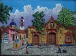 Obras de arte: America : México : Mexico_Distrito-Federal : iztapalapa : puerta colonial