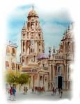 Obras de arte: Europa : España : Murcia : Murcia_ciudad : PASEO POR LA CATEDRAL