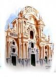 Obras de arte: Europa : España : Murcia : Murcia_ciudad : PUERTA DE LA CATEDRAL DE MURCIA