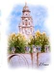 Obras de arte: Europa : España : Murcia : Murcia_ciudad : CATEDRAL VISTA DESDE EL PUENTE